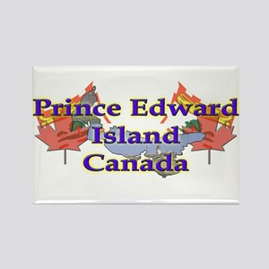 Prince Edward Island Rectangle Magnet
