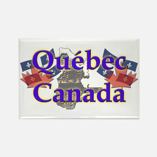 Québec Rectangle Magnet