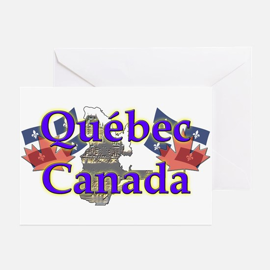 Québec Greeting Cards (Pk of 10)