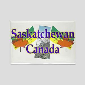 Saskatchewan Rectangle Magnet
