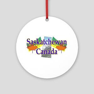 Saskatchewan Ornament (Round)