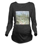 Many Saguaros Recrea Long Sleeve Maternity T-Shirt