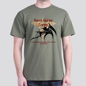 Coyote brown Navy Nurse Corps T-Shirt
