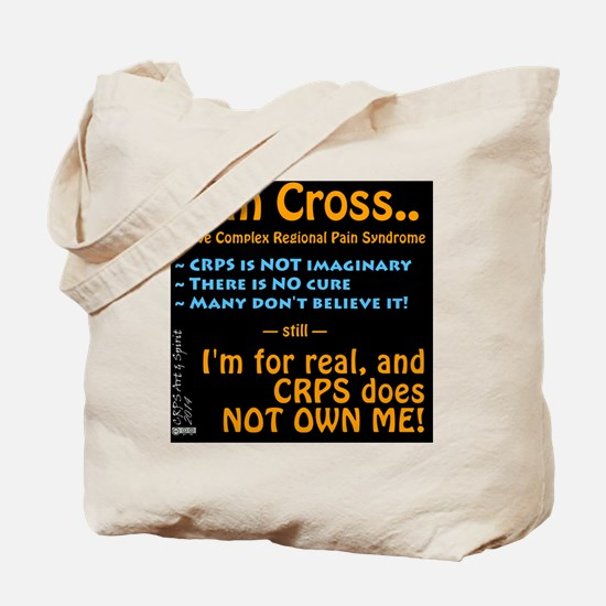 I am Cross #1 Tote Bag