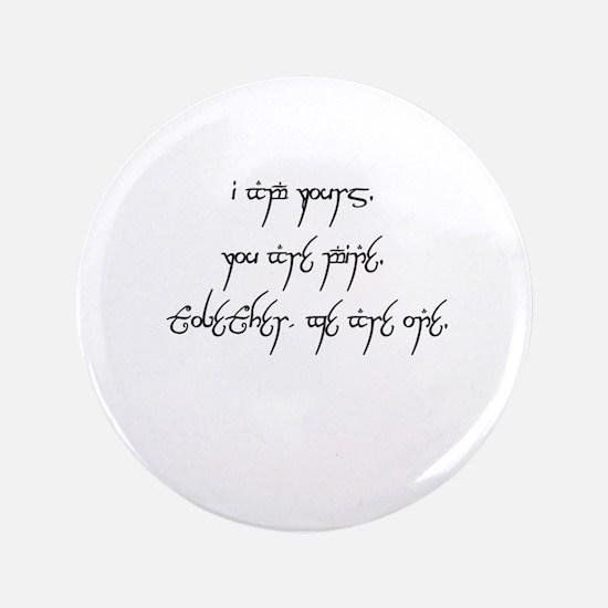 "Elvish Ruins Words of Bonding No Picture 3.5"" Butt"