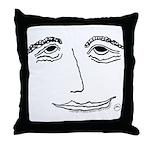 Bashful Bliss Throw Pillow