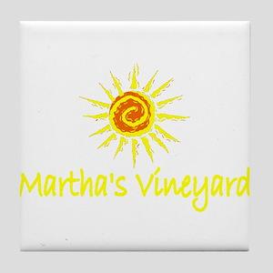 Martha's Vineyard Tile Coaster