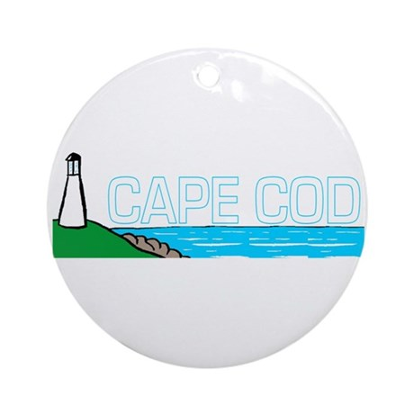 Cape Cod Ornament (Round)