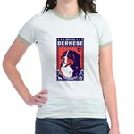 Bernese Mountain Dog! Jr. Ringer T-Shirt