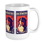 Obey the Bernese Mountain Dog! Large Mug