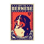 Bernese Mountain Dog! Mini Poster Print
