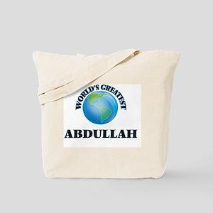 World's Greatest Abdullah Tote Bag