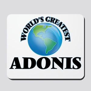World's Greatest Adonis Mousepad