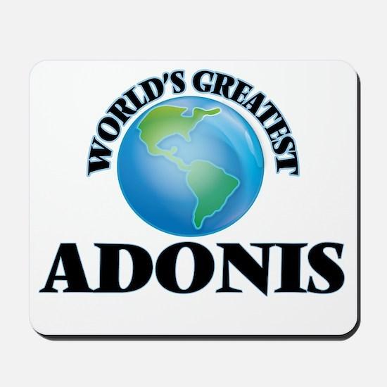 World's Greatest Adonis Mousepad