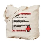 PET Emergency Preparation Tote Bag