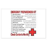 Emergency Preparation Large Poster