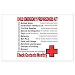 CHILD Emergency Preparation Large Poster