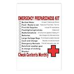 Emergency Preparation listcards (Pack of 8)