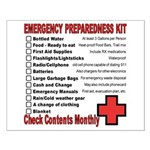 Emergency Preparation Small Poster
