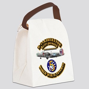 AAC - 43rd BG - 63rd BS - 5th AF Canvas Lunch Bag