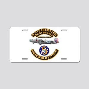Aac - 43rd Bg - 63rd Bs - 5 Aluminum License Plate