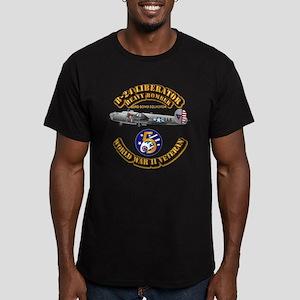 AAC - 43rd BG - 63rd B Men's Fitted T-Shirt (dark)