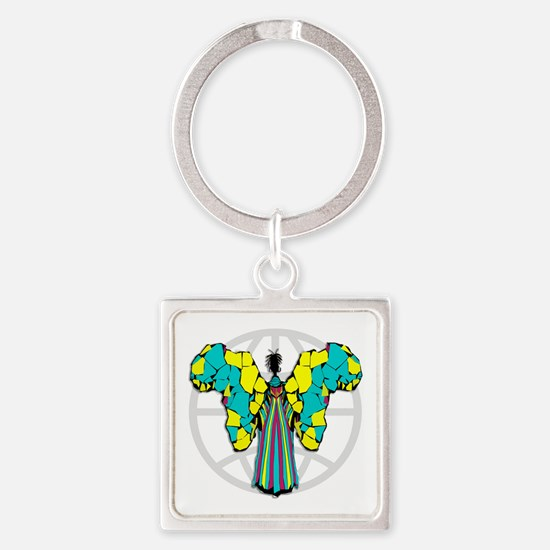African Butterfly Keychains