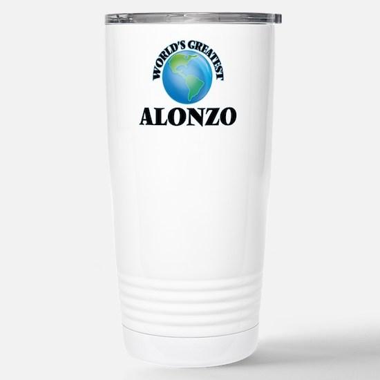World's Greatest Alonzo Stainless Steel Travel Mug