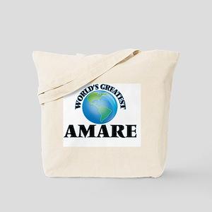 World's Greatest Amare Tote Bag
