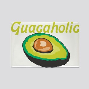 Guacaholic Rectangle Magnet