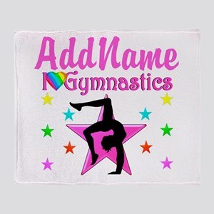 GYMNAST GIRL Throw Blanket