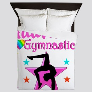 GYMNAST GIRL Queen Duvet
