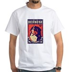 Obey the Bernese Mountain Dog! White T-Shirt