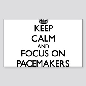 Keep Calm and focus on Pacemakers Sticker