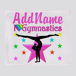 GYMNAST CHAMP Throw Blanket