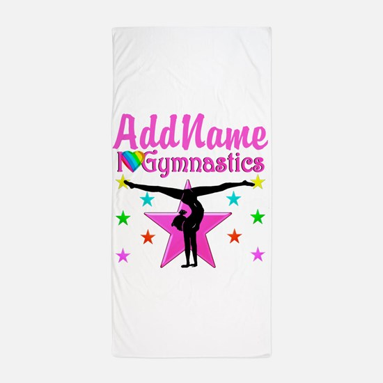 GYMNAST CHAMP Beach Towel
