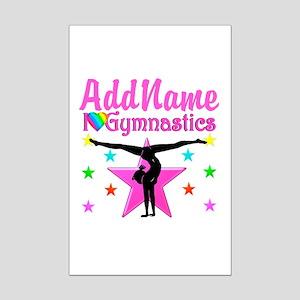 GYMNAST CHAMP Mini Poster Print