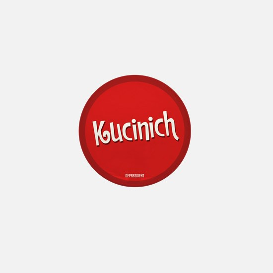 Retro Kucinich Mini Button