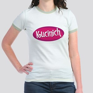 Retro Kucinich Jr. Ringer T-Shirt