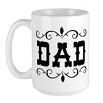 Dad - Father's Day - Large Mug