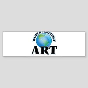 World's Greatest Art Bumper Sticker