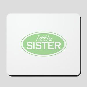 Little Sister (Oval) Mousepad