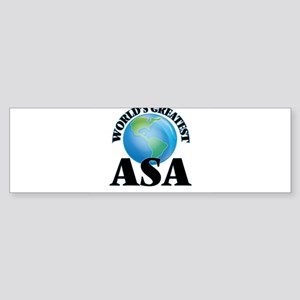 World's Greatest Asa Bumper Sticker