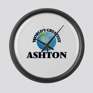 World's Greatest Ashton Large Wall Clock