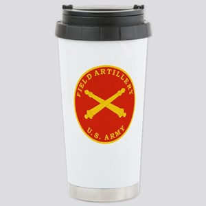 Field Artillery Seal Pl Stainless Steel Travel Mug