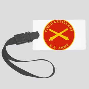 Field Artillery Seal Plaque Large Luggage Tag