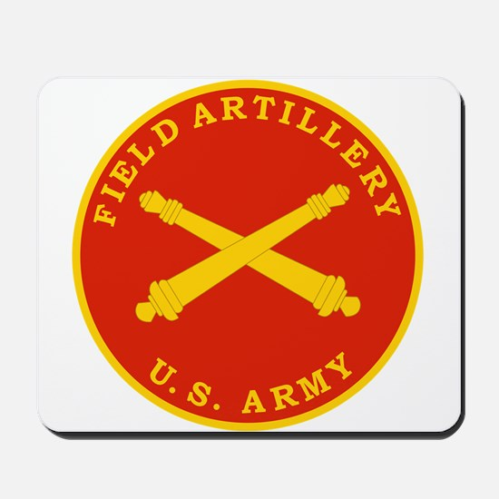 Field Artillery Seal Plaque.png Mousepad