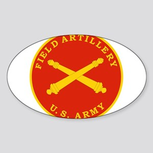 Field Artillery Seal Plaque Sticker