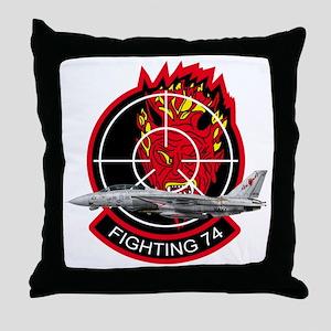 vf74logoA Throw Pillow