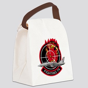 vf74logoA Canvas Lunch Bag